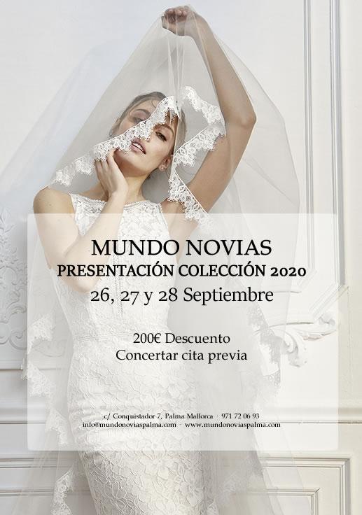 NUEVA COLECCIÓN NOVIA 2020